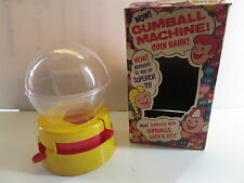 Vintage Superior Toy Gum Ball Machine with Key and Original Box