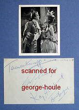 JOHN CLEMENTS - KAY HAMMOND - BRIAN BEDFORD - TERENCE KNAPP - AUTOGRAPHED