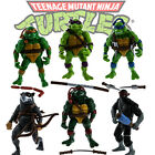 TMNT Teenage Mutant Ninja Turtles 6PCS Lot Action Figures Anime Movie Toys