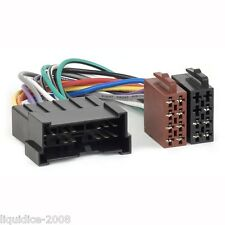 Ct20ki03 Kia Carnival 2003 a 2005 ISO arnés Cable adaptador estéreo de unidad de cabezal