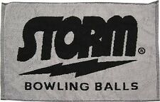 Storm Woven Black/Grey Bowling Ball Towel