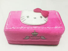 Hello Kitty Pink Tissue Box Cover NWT Sanrio #Angel