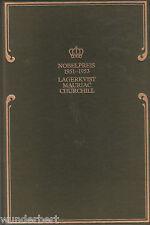 *- Nobelpreis für LITERATUR 1951-1953 - LAGERKVIST/Mauriac/CHURCHILL gebunden