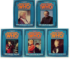 1980s Doctor Who Files Magazine-Set of 5 Jon Pertwee Years-Reference Book