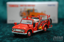 [TOMICA LIMITED VINTAGE LV-30b 1/64] NISSAN JUNIOR FIRE ENGINE TAKASAKI (Red)