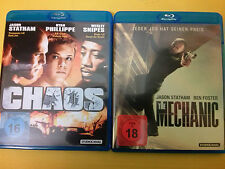 Chaos / The Mechanic Blu Ray TOP