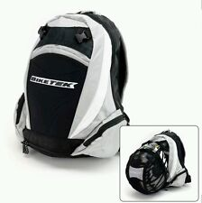 BIKE-IT BIKETEK MOTORCYCLE MOTORBIKE HELMET CARRIER RUCKSACK BACK PACK BAG NEW