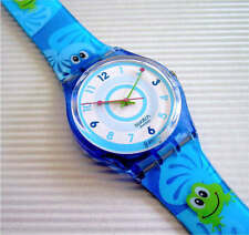 FROGGY WEATHER! Whimsical FROG LOVER Swatch! NIB-RARE!