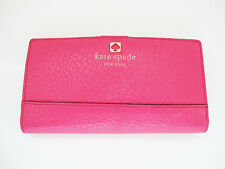 Kate Spade Stacy Leather Purse Wallet Pink