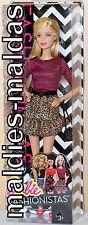 BARBIE Fashionistas Barbie Glam Party Rock nel Leopardi Look cjy40 Nuovo/Scatola Originale Bambola