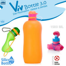 Viv Bottle 3.0 - Faltbare Trinkflasche - Orange 1500 ml