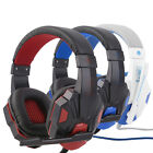 3.5mm Surround Stereo Gaming Headset Headband Headphone with Mic for PC XY