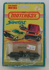 Matchbox Lesney Superfast No. 25 Flat Bed with Container BLISTER oc5869