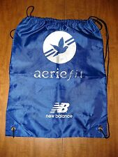 NEW BALANCE athletic gym bag Aerie Fit cinch sack NB drawstring pouch footwear