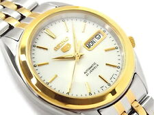 Seiko 5 Men's SNKL24K1 Stainless Steel Two Tone Automatic Day Date Watch