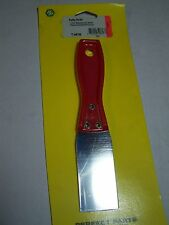 ".PUTTY KNIFE - FLEXIBLE BLADE 1-1/2"", PLASTIC HANDLE, MULTI-PURPOSE"