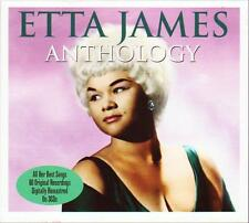 ETTA JAMES - THE ANTHOLOGY- 70 ORIGINAL RECORDINGS (NEW SEALED 3CD) AT LAST