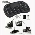 Black Mini 2.4G Wireless Keypads Keyboard With Touchpad For PC Android TV New