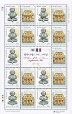 Korea - Ancient burner and Reliquary (joint issued France) sheet 2016