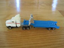 1987 Road Champs NASA Semi-truck Toy Kenworth