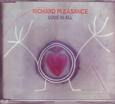 Richard Pleasance Love Is All Australian CD single (1994) ex Boom Crash Opera