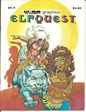 ELFQUEST # 2 (WARP GRAPHICS, RAID AT SORROWS END, AUG 1978), FN-
