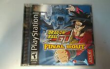 Dragon Ball Gt Final Bout - PS1 PS2 Playstation Game SHIPS FAST!