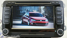 VW RNS 510 SAT NAV DVD MP3 UNIT 1T0035680B / 2017 V14 MAPS GENUINE RNS510 LCD