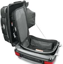 Tbags Black Textile Motorcycle King Boot Case Trunk Bag Harley Touring Bagger