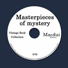 Masterpieces of mystery by Joseph Lewis French 4 PDF E-Books on 1 Data DVD