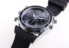 8GB DVR Cam HD Video Watch SPY Hidden IR Night  Vision Watch Camera Chargeable