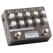 Empress Effects Multidrive Overdrive Distortion Fuzz Guitar Effect Pedal