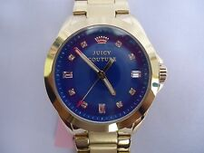 Fadville_NIB Juicy Couture Ladies Goldtone Royal Blue Dial - $195 U.S.A