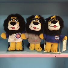 ALL 3 CHICAGO CUBS STADIUM GIVEAWAY SGA HUBERT HARRIS BANK LION UNIFORM 03 04 05