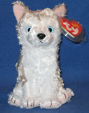TY JUNEAU the HUSKY DOG BEANIE BABY - MINT with MINT TAGS
