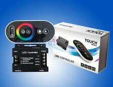 Wireless RGB Touch Remote Controller LED Dimmer 12-24V DC 18A 432W 6A*3CH