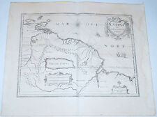Carte 1656 JANSSONIUS antique map in-folio GUYANE Guyana Manaus Tobago 176
