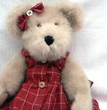 "BOYDS BEARS 14"" KRISTEN T BEANSLEY GOLD EDITION"