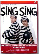 Dvd Sing Sing con Adriano Celentano e Enrico Montesano 1983 Usato