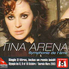 ☆ CD SINGLE Tina ARENA Symphonie de l'ame 3-track CARD SLEEVE NEW SEALED ☆