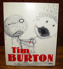 SIGNED Tim Burton MOMA Retrospective Book Photos Drawings Filmmaker Artist PB