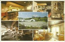 GWYNEDD, WALES. THE LODGE MOTEL. MULTI VIEW POSTCARD