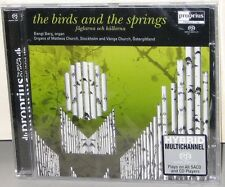 PROPRIUS PRSACD 7742 SACD: The Birds and the Springs, BENGT BERG, 2006 SWEDEN SS