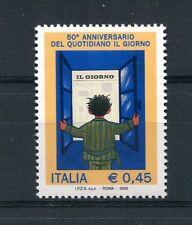Italia 2006 Cinquantenario del quotidiano Il Giorno MNH
