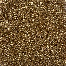 Miyuki Delica Size 11/0 Seed Beads Lust Mettalic Rose Gold in 7.2g Tube (B78/8)