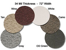 6' Wide Marideck Boat Marine Vinyl Flooring - Custom Length 15ft or more & Color