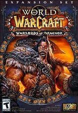 World of Warcraft: Warlords of Draenor Expansion 2014 PC Windows Mac NEW SEALED