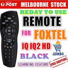 FOXTEL REMOTE Control Replacement For FOXTEL IQ IQ2 HD & PAYTV BRAND NEW black