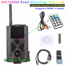 HC500M GSM 2G MMS Hunting Trail Camera NO Glow SMS Upgrade Version of HC300M