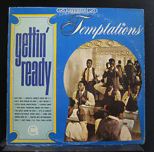 The Temptations - Gettin' Ready LP VG+ GS918 1st Stereo 1966 Rare Vinyl Record